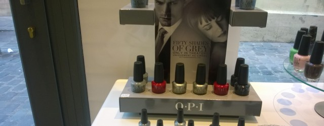 Vernis O.P.I 50 Shades Of Grey… L'évènement ! 2